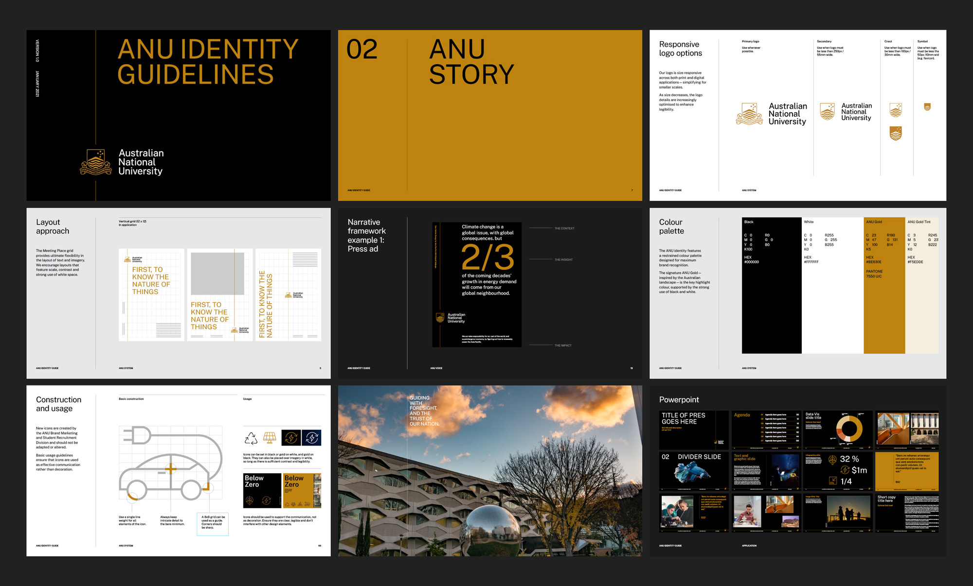 New Logo and Identity for Australian National University by For The People