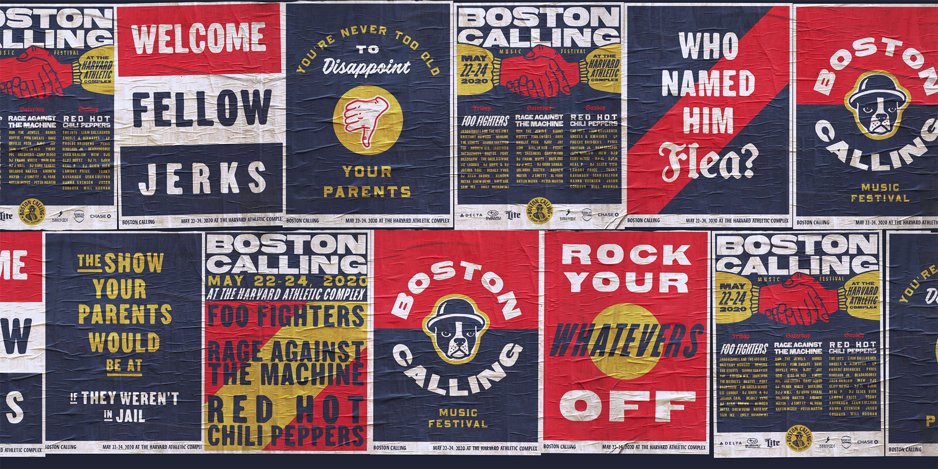 New Logo and Identity for Boston Calling by Contino Studio and Colossus