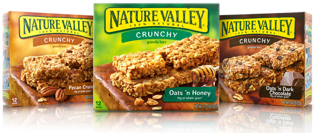 Brand New: New Logo and Packaging for Nature Valley by Brand Image