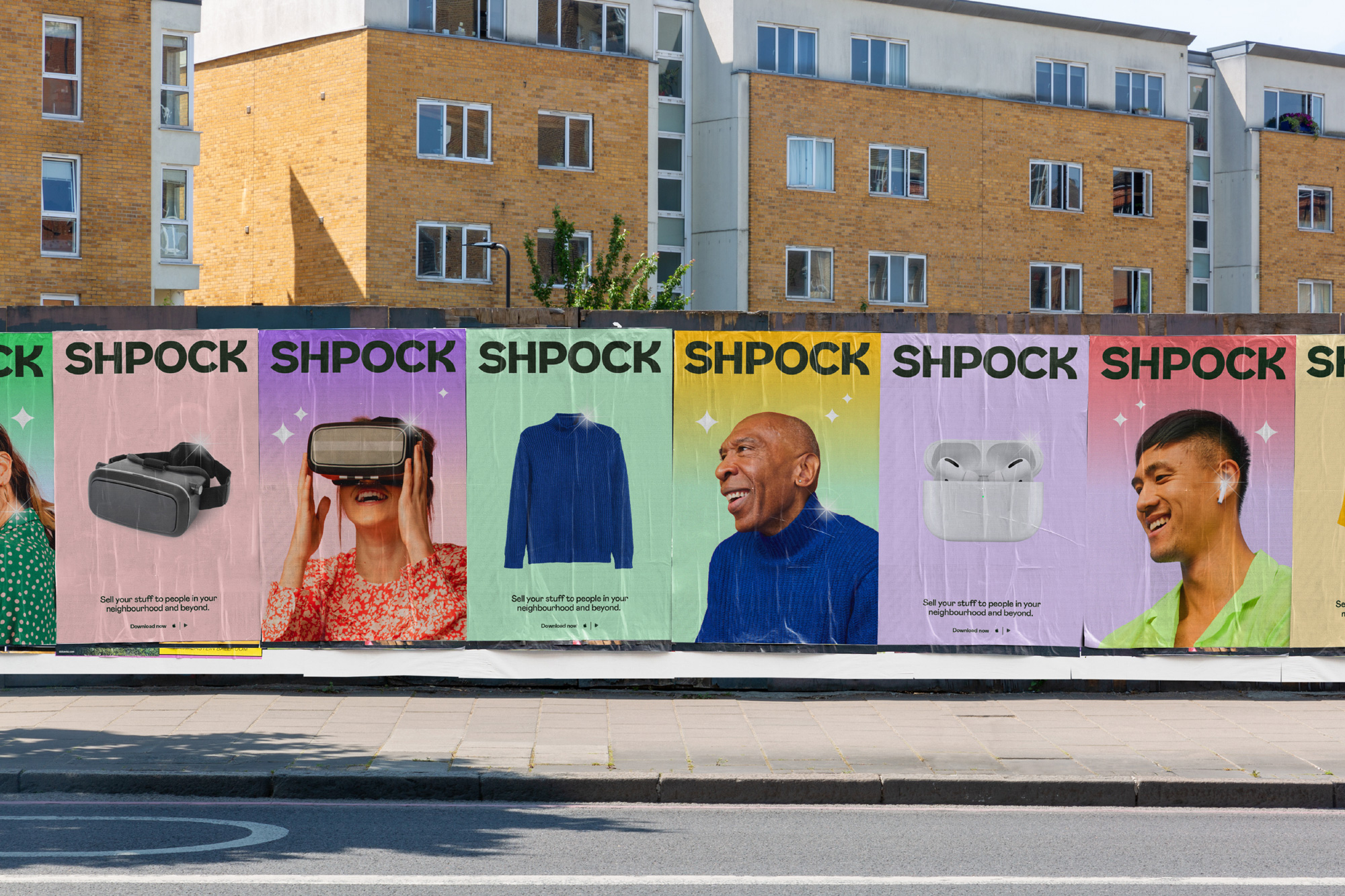 New Logo and Identity for Shpock by Koto
