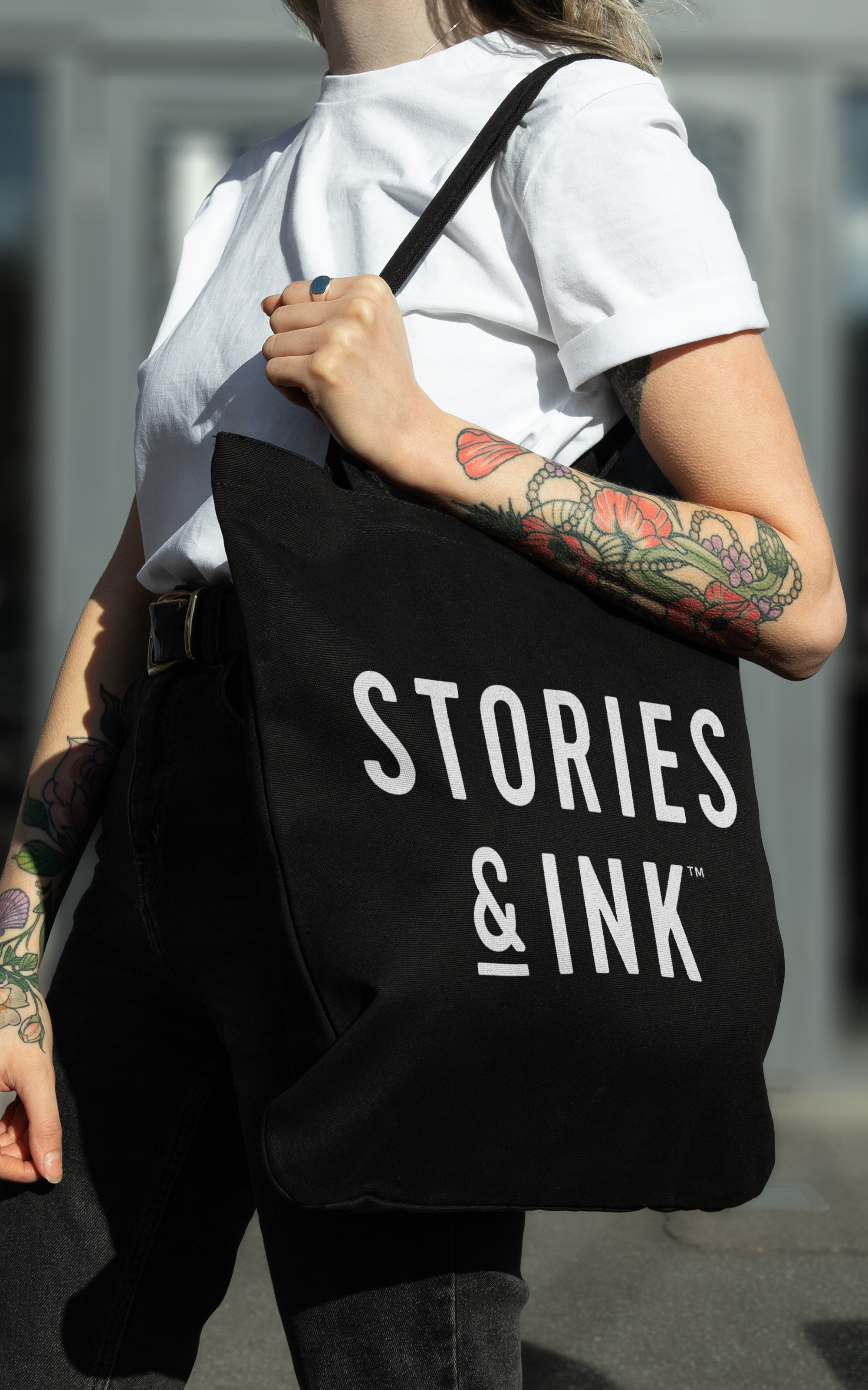 New Name, Logo, and Packaging for Stories & Ink by Robot Food