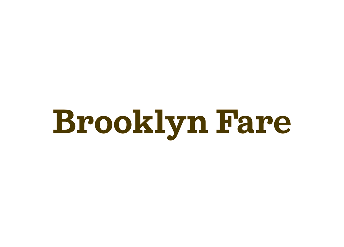 Brooklyn Fare by Mucca Design