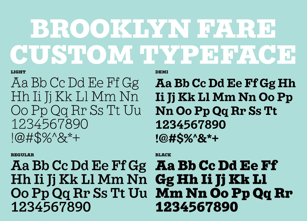 Brooklyn Fare by Mucca Design