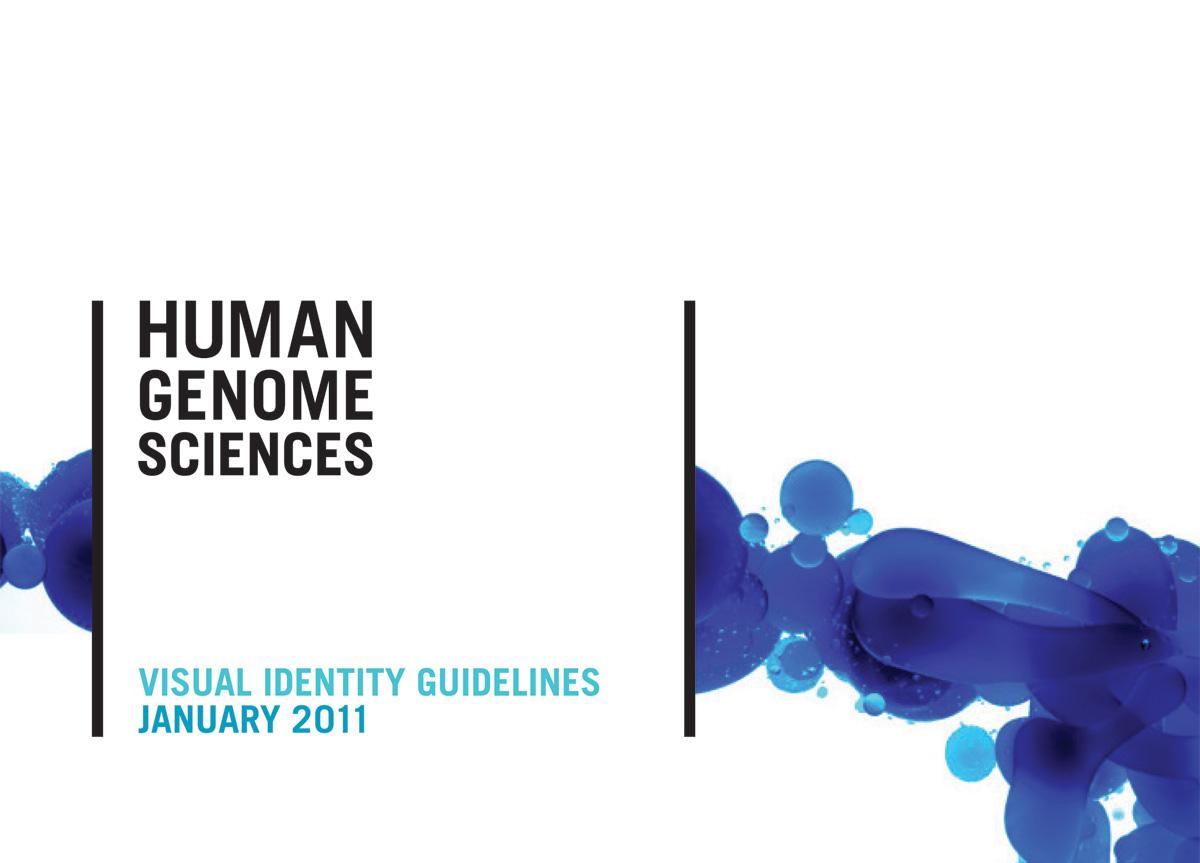 Human Genome Sciences by Landor Associates   2010 Brand New