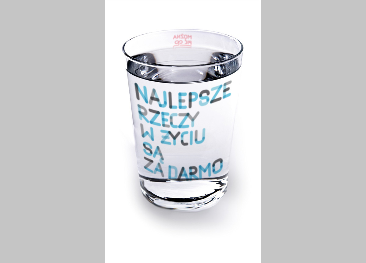 Tap Water Campaign by Witek Gottesman