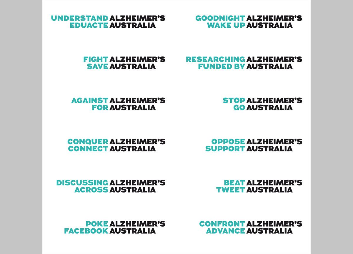 Alzheimer's Australia by Interbrand, Sydney
