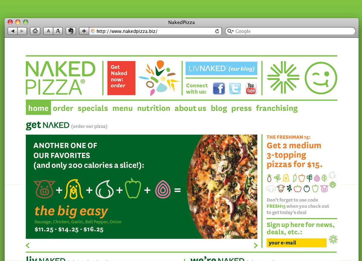 Naked Pizza byOpen
