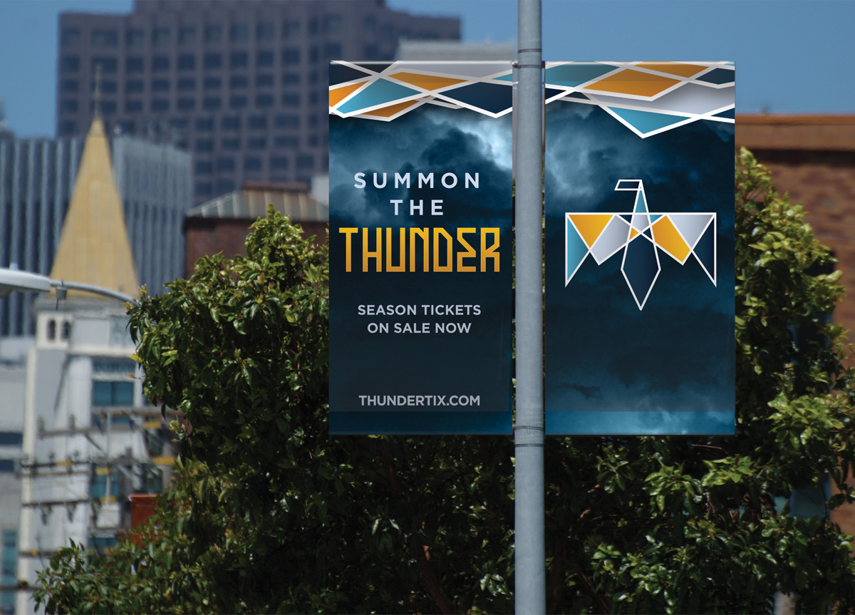 Oklahoma City Thunder by Preston Grubbs and Asha Pollard