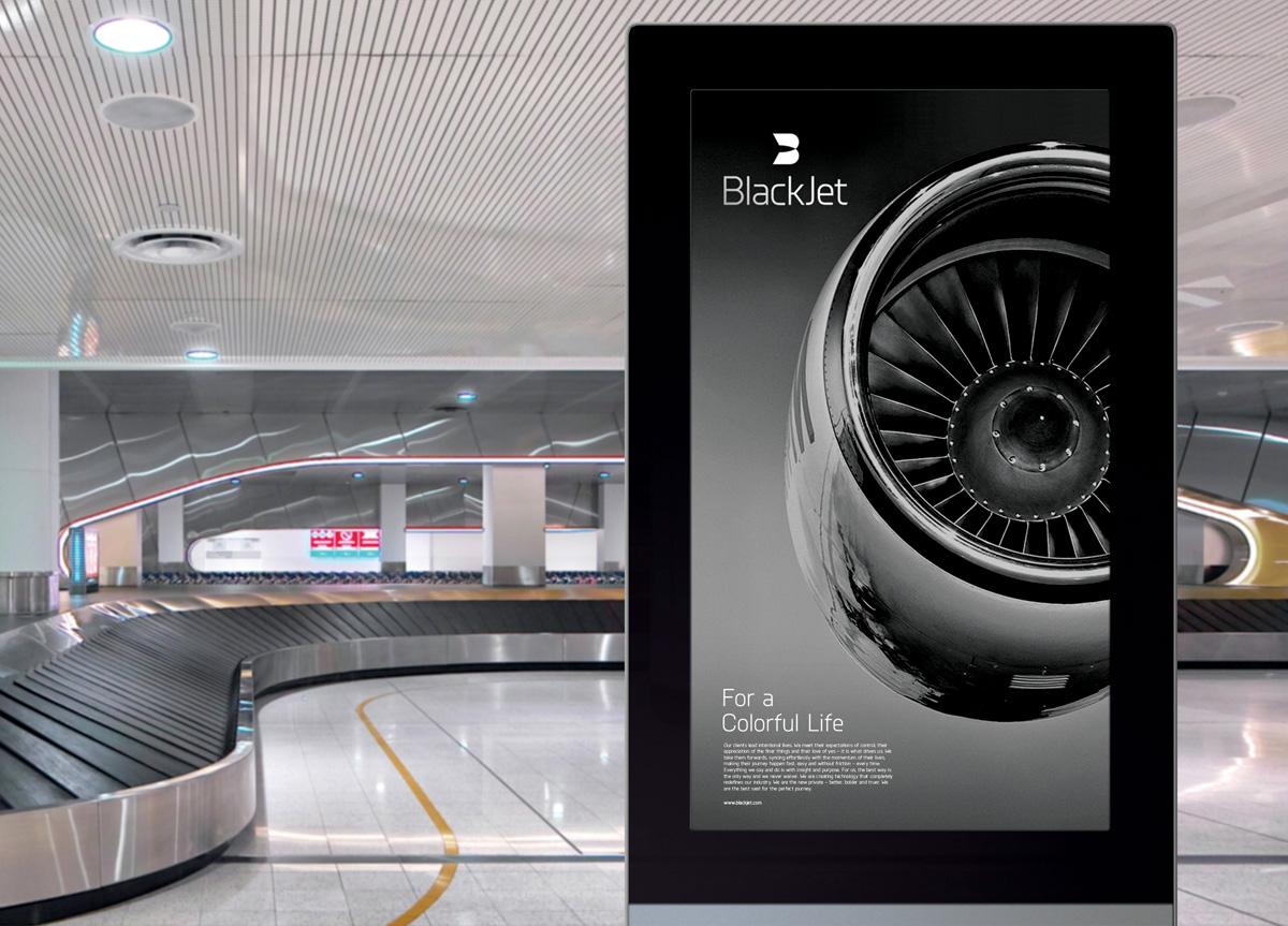 Blackjet by Moving Brands