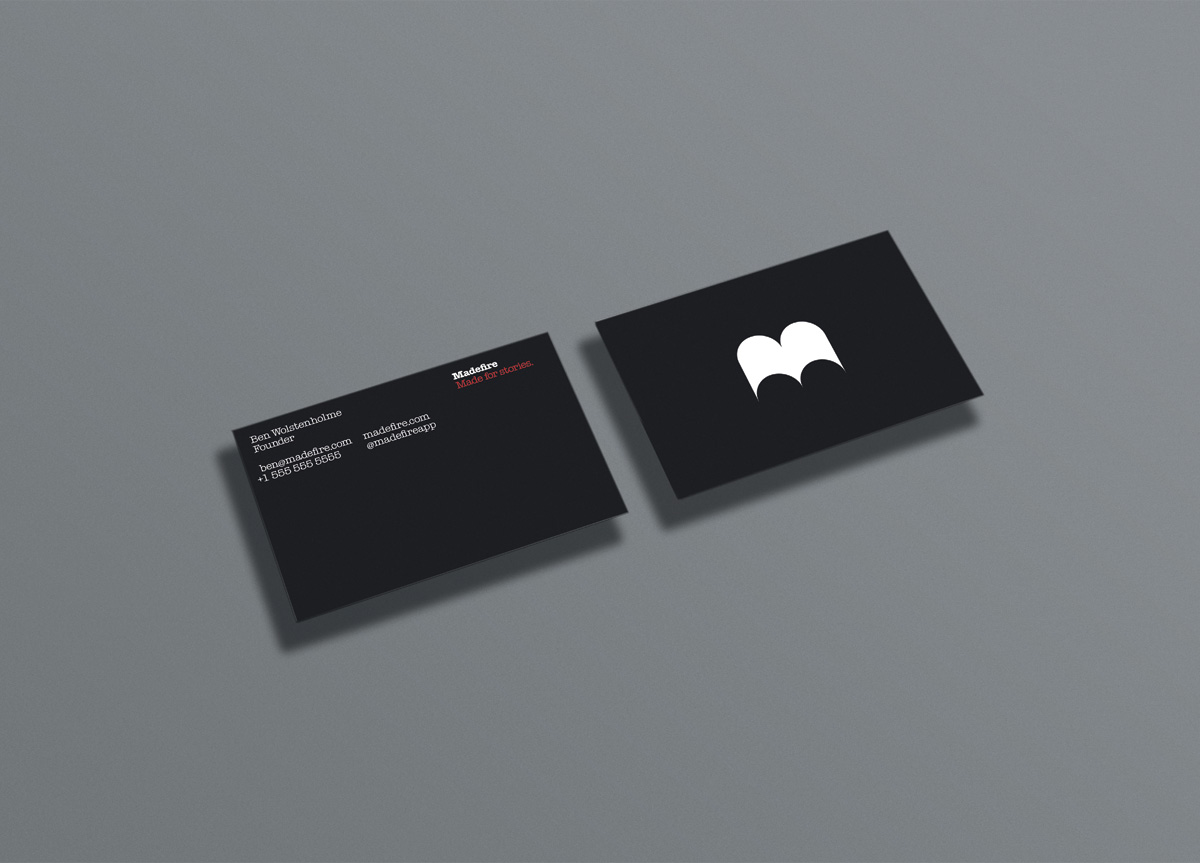 Madefire by Moving Brands | 2012 Brand New Awards