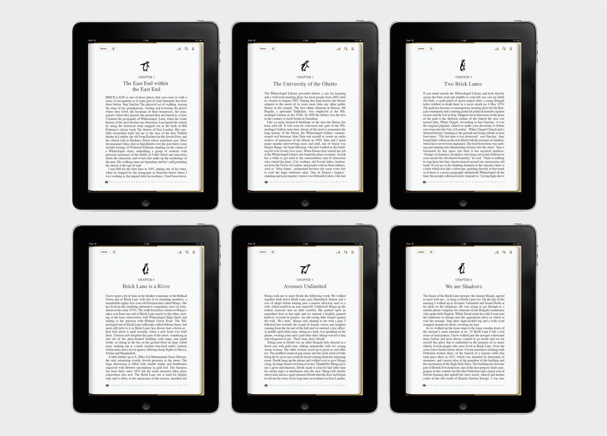 Penguin Books by Venturethree