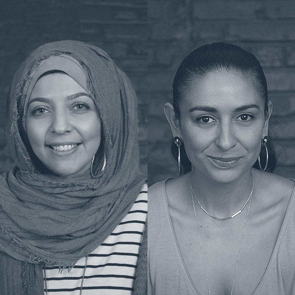 Nermin Moufti and Kristin Lueke