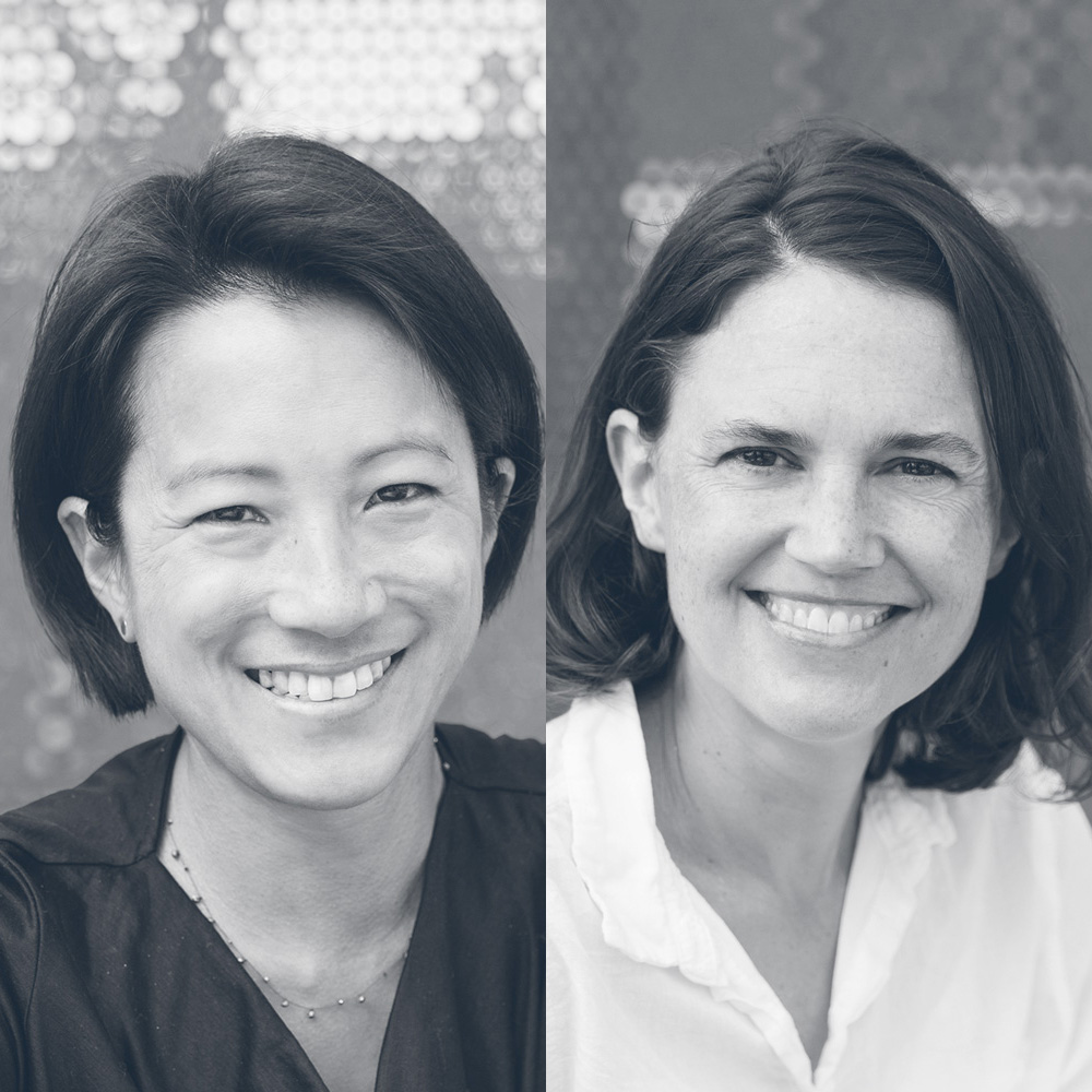 Alicia Cheng and Sarah Gephart