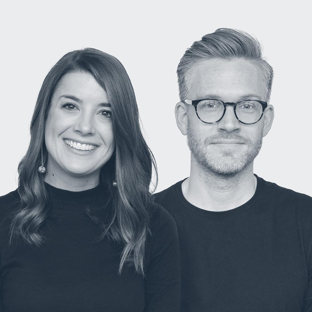 Kyle Eertmoed and Kim Knoll