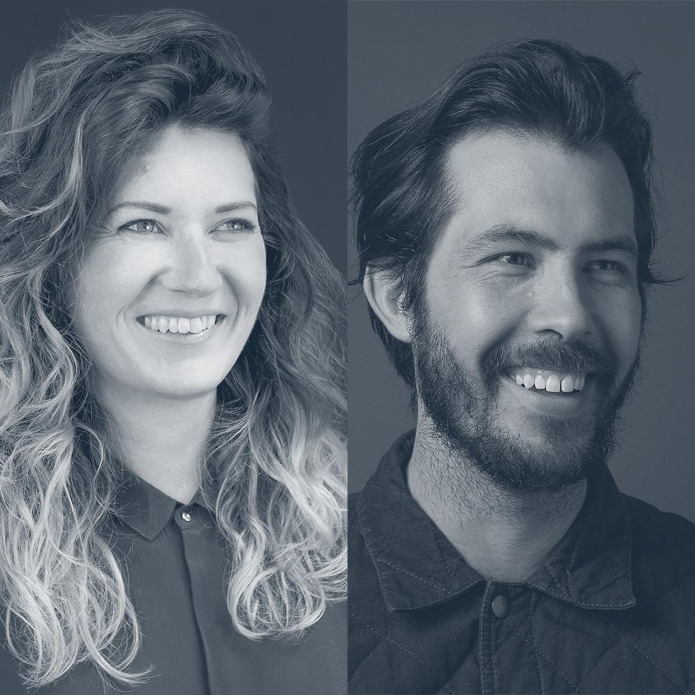 Karin Soukup and Ben Crick