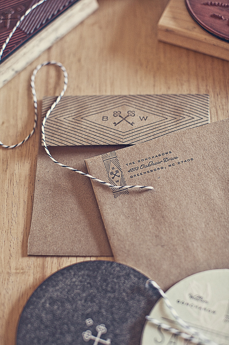 Goncharows Coaster Wedding Invites