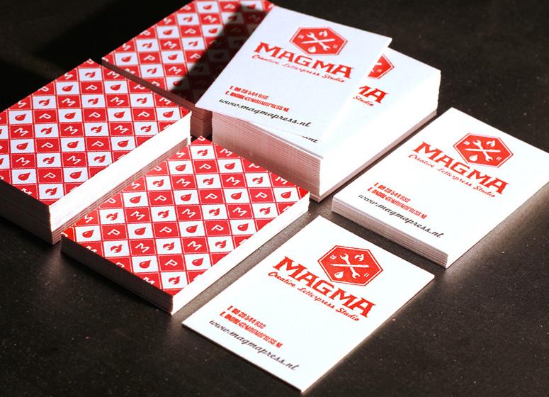 Magma Press Letterpress Pattern Cards