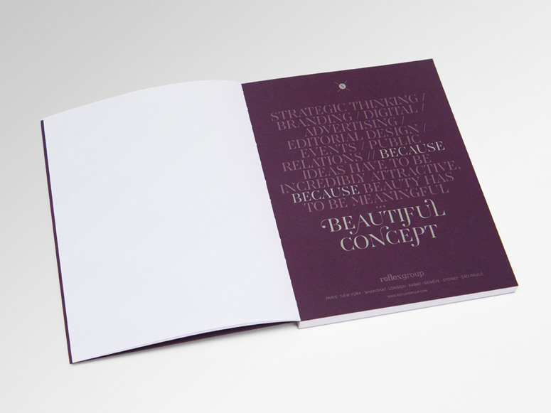 Personalized Notebook + New Year Card