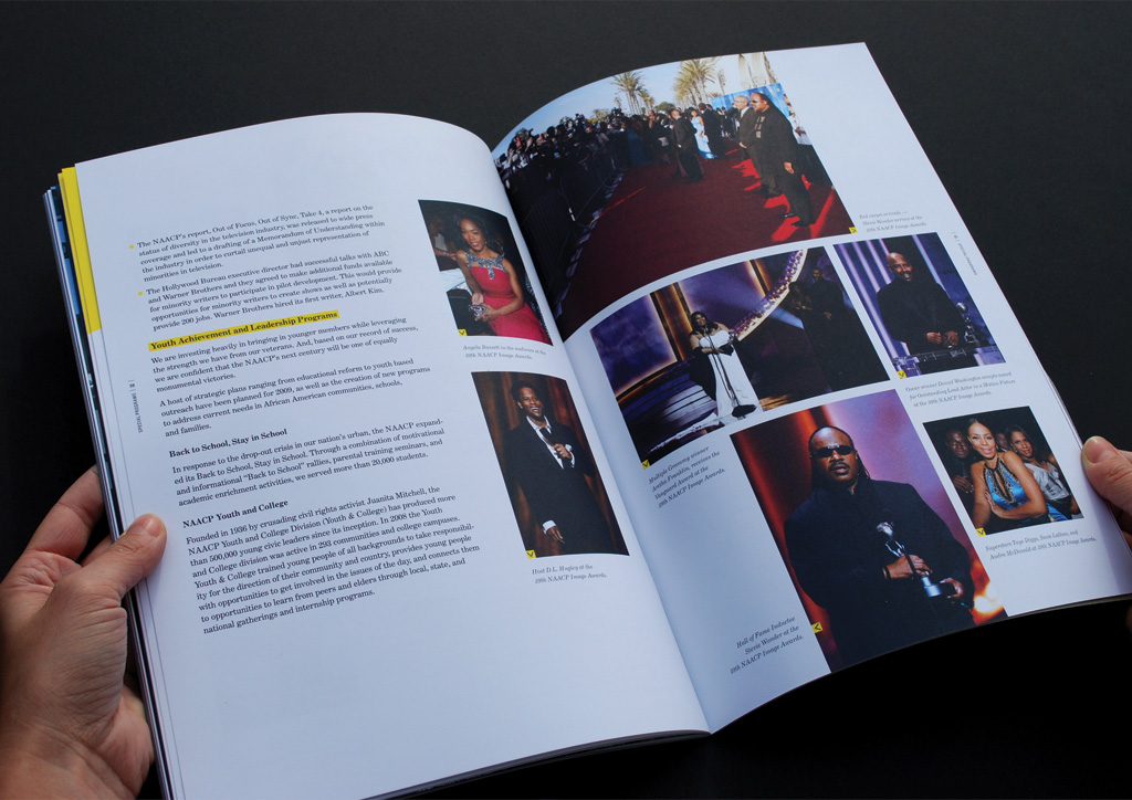 Annual Report for NAACP by Hyperakt