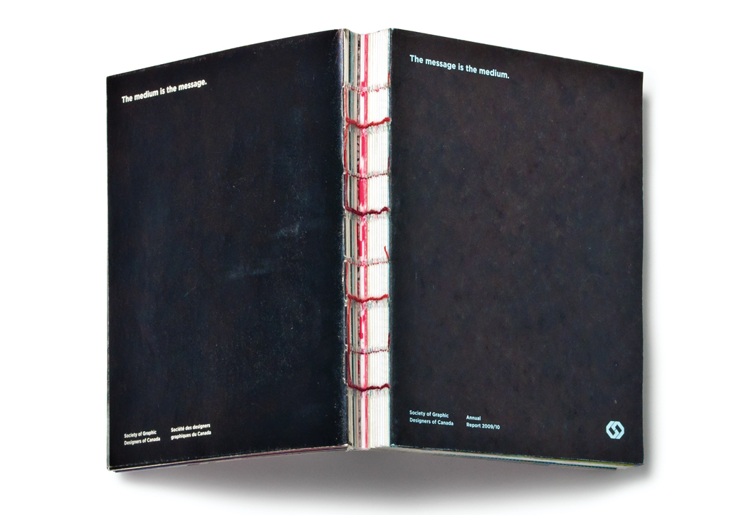 Annual Report for Society of Graphic Designers of Canada by Foundry Communications