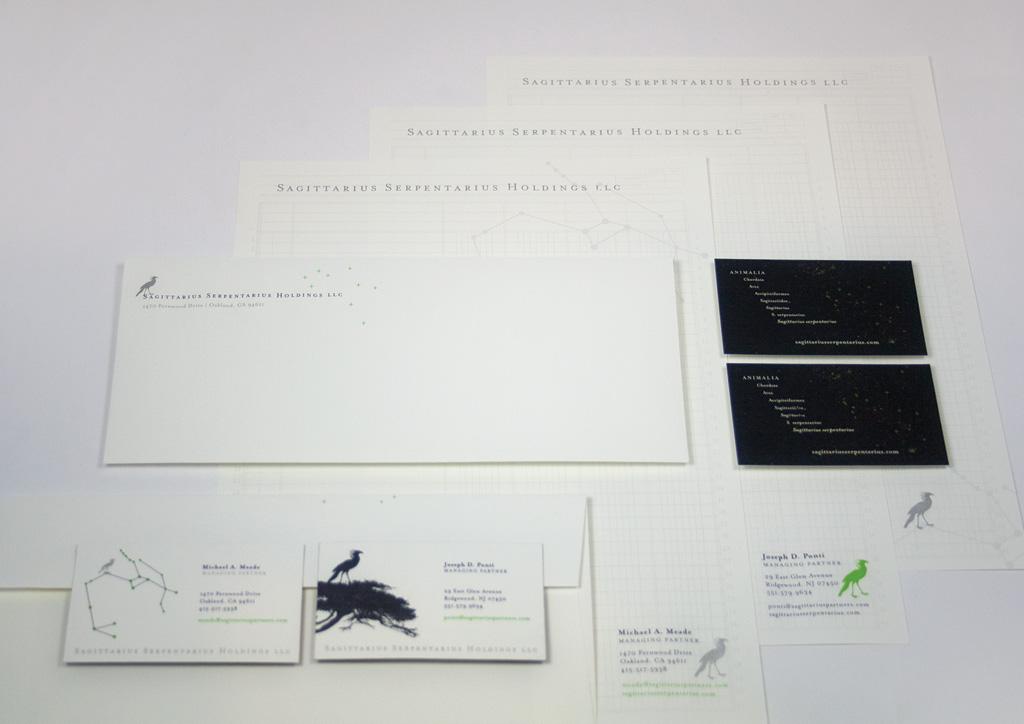 Stationery for Sagittarius Serpentarius Holdings LLC by Shelby Designs & Illustrates