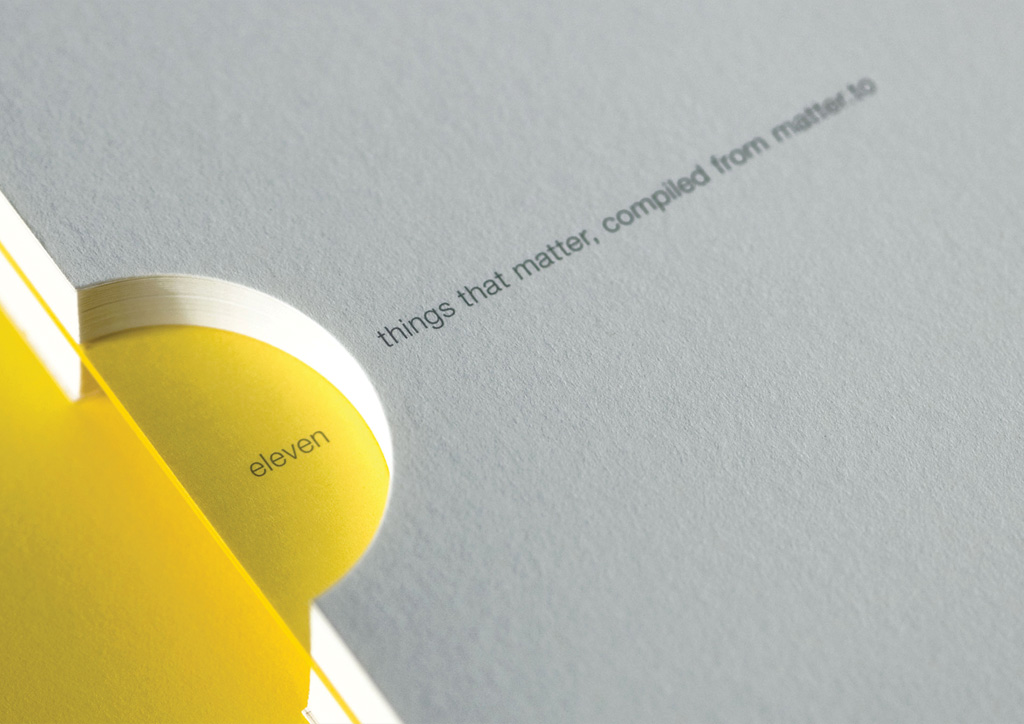 Notebook for Self-Promotion by Matter Strategic Design