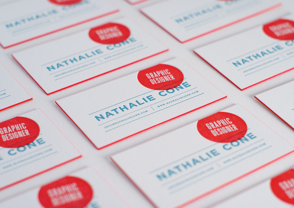 Business Card for Self-Promotion by Nathalie Cone