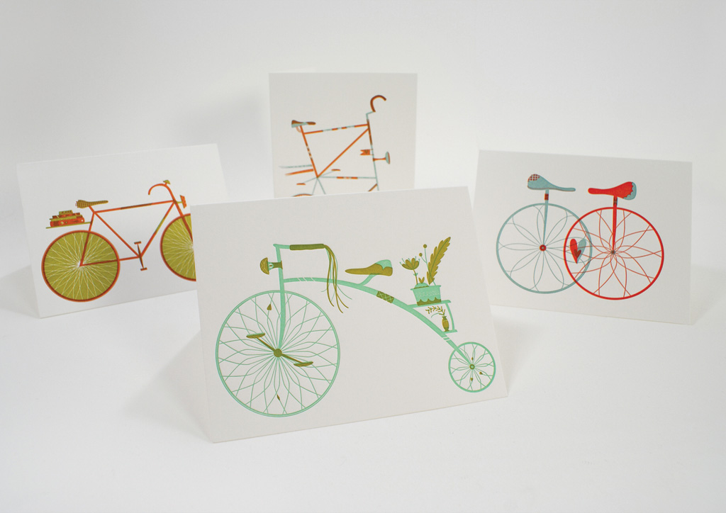Greeting Card for Self-Promotion by Gilah Press + Design