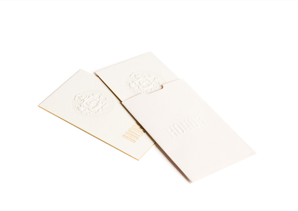 Business Card for Honor by RoAndCo Studio