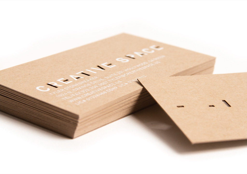 Business Card for Creative Space by RoAndCo Studio