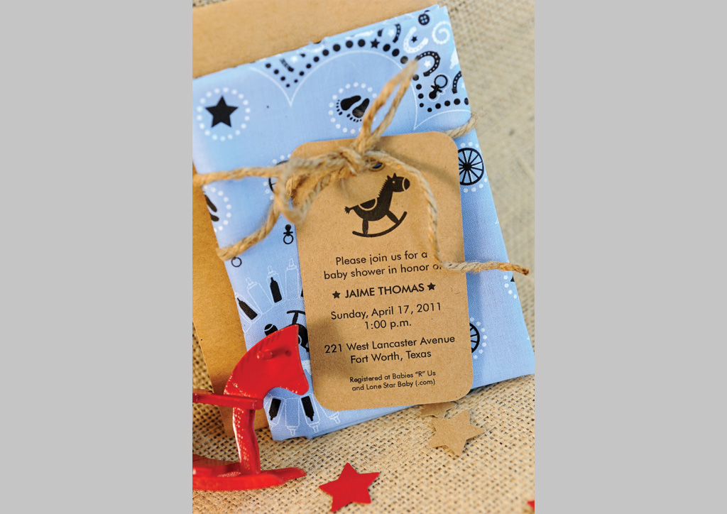 Baby Shower Invitation for Jaime Thomas by Leigh Ghesquiere