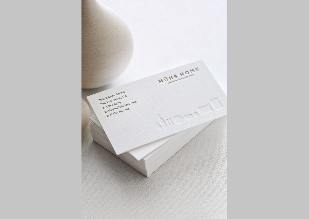 Business Card for Muhs Home by Passing Notes