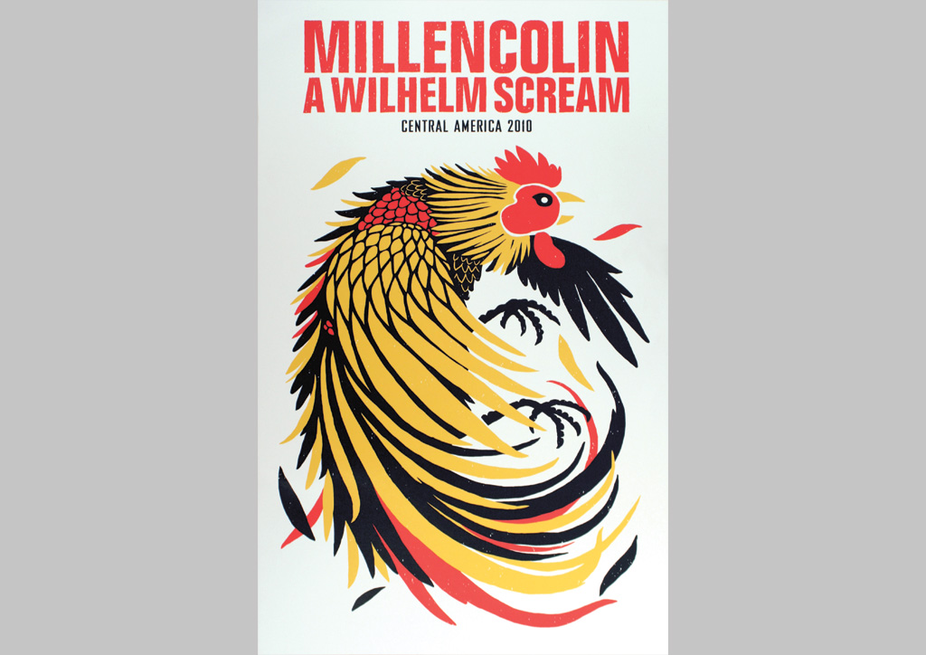 Poster for A Wilhelm Scream by Mama's Sauce