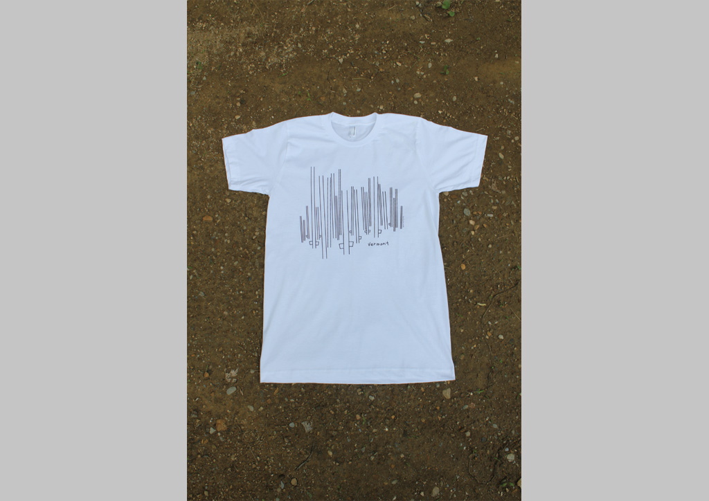 T‑shirt for country lungs by ian jamieson