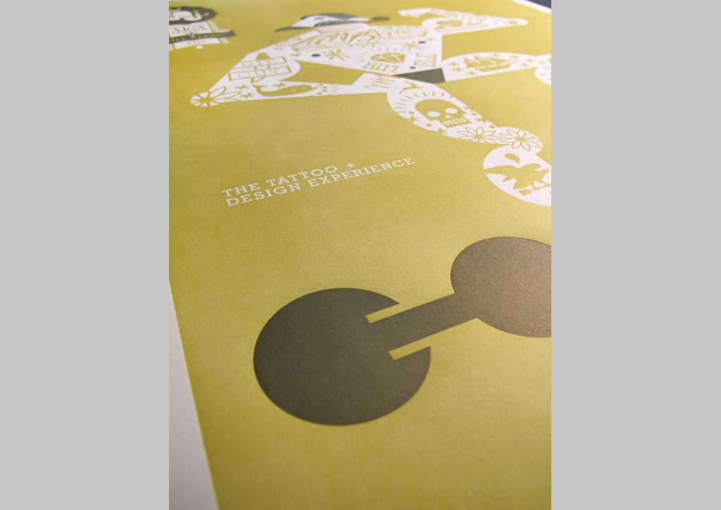 Posters and Postcards for AIGA SLC by The Mandate Press