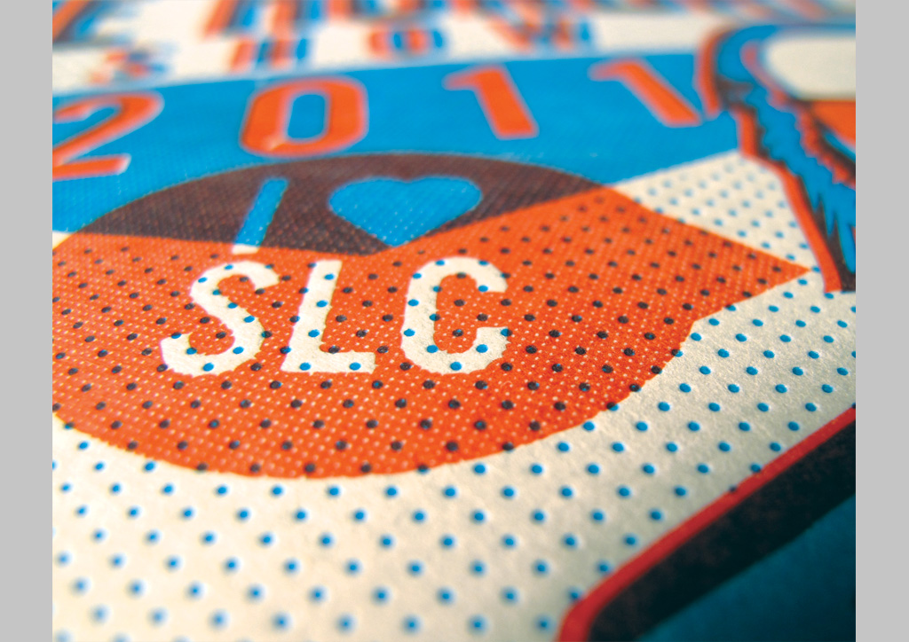 Invitation, Award Certificates, and Book Cover for AIGA SLC by The Mandate Press