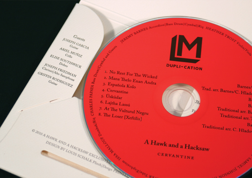 CD Package for LM Dupli-cation by Plinth Design