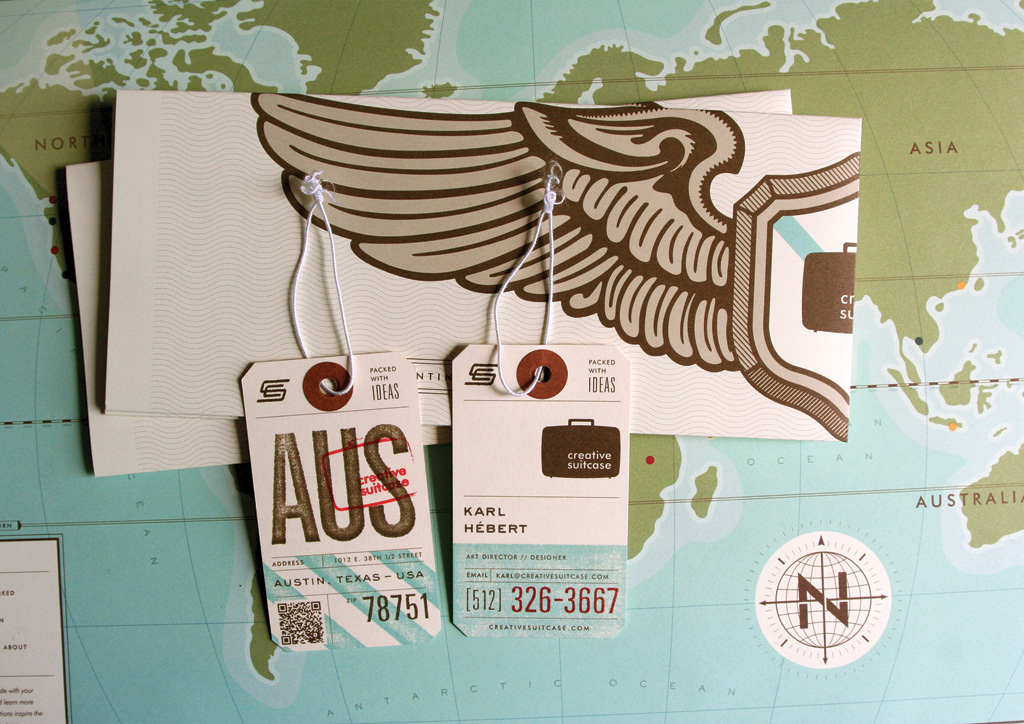 Business cards for Self-Promotion by Creative Suitcase | 2010 FPO Awards