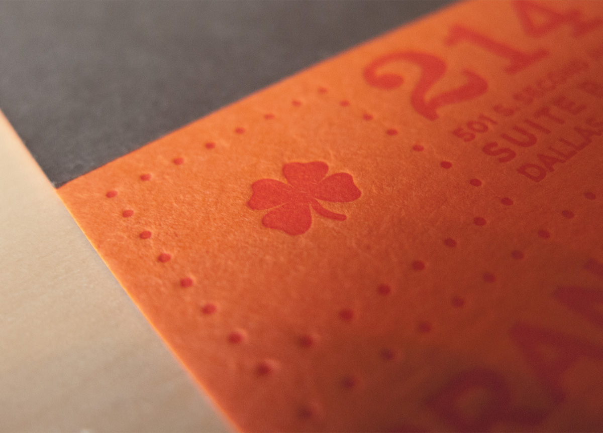Business Card for/by Caliber Creative