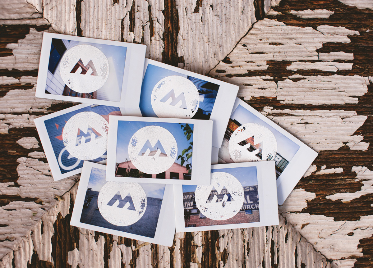 Business Card for M David Media by Brandon Harrison