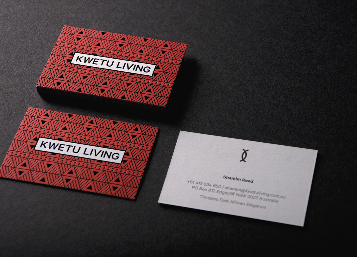 Business Card for Kwetu Living by Canvas Group