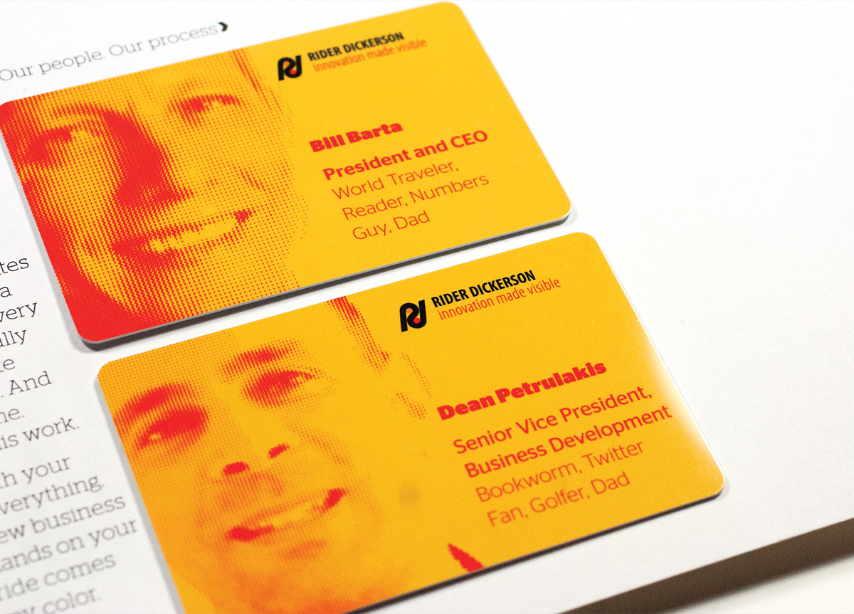 Self-Promotion for Rider Dickerson by Faust Associates
