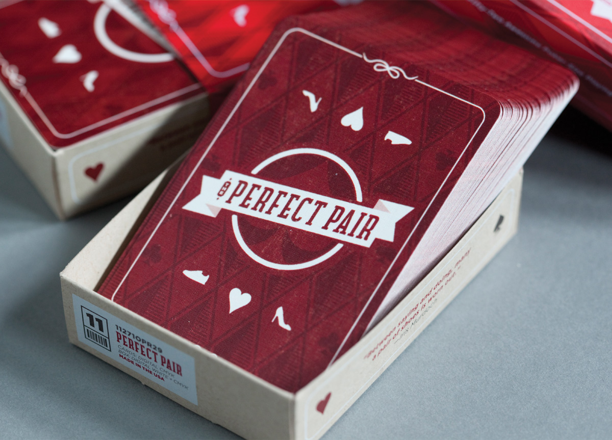 Deck of cards for O'Neil Printing by Rule29