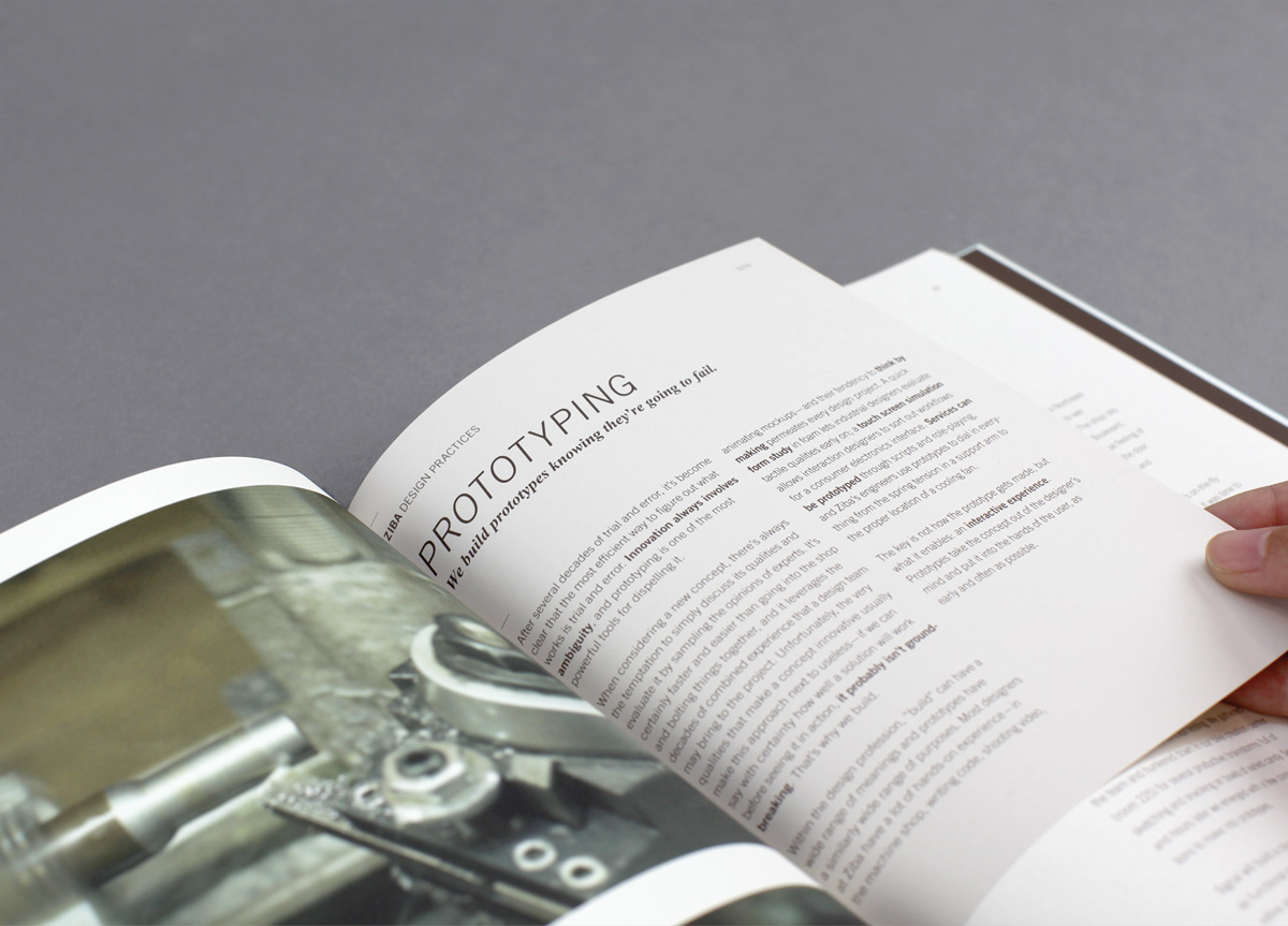 Book for Self-promotion by Ziba Design