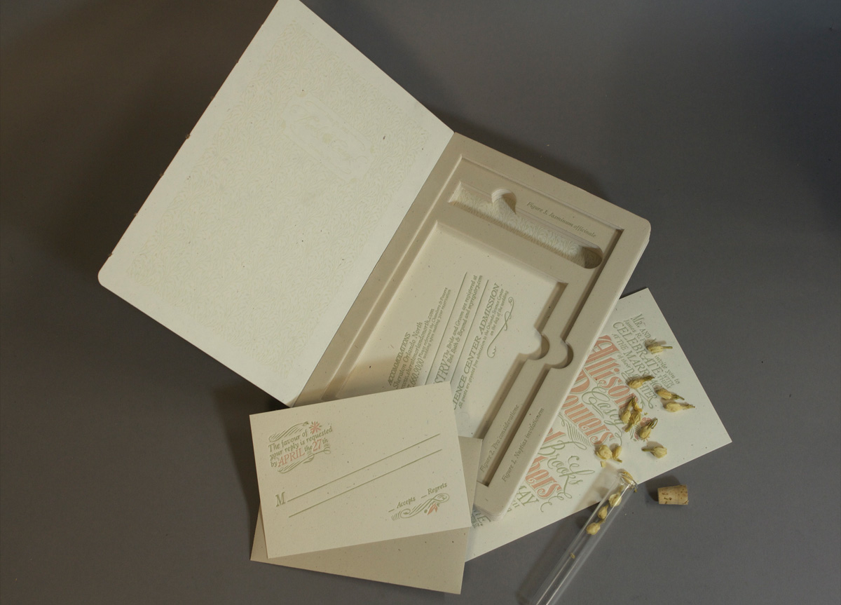 Wedding Materials for Casey & Brooks by Mama's Sauce