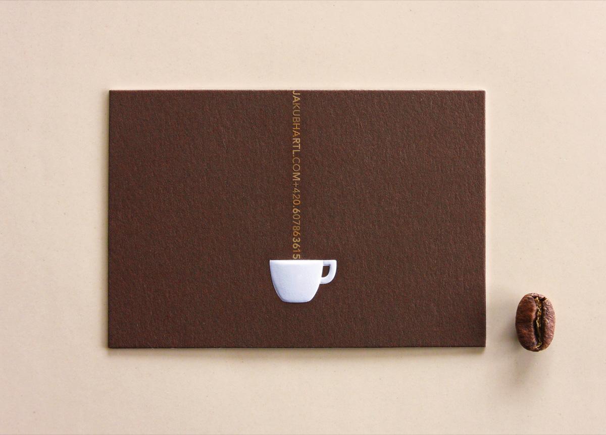 Business Card for Jakub Hartl by Lumir Kajnar