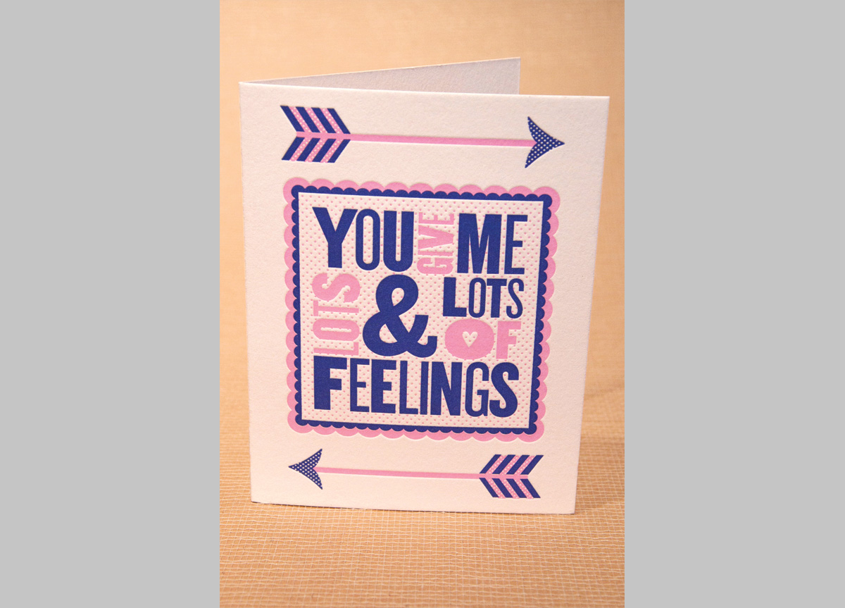Greeting Cards for Self-Promotion by Two Paperdolls