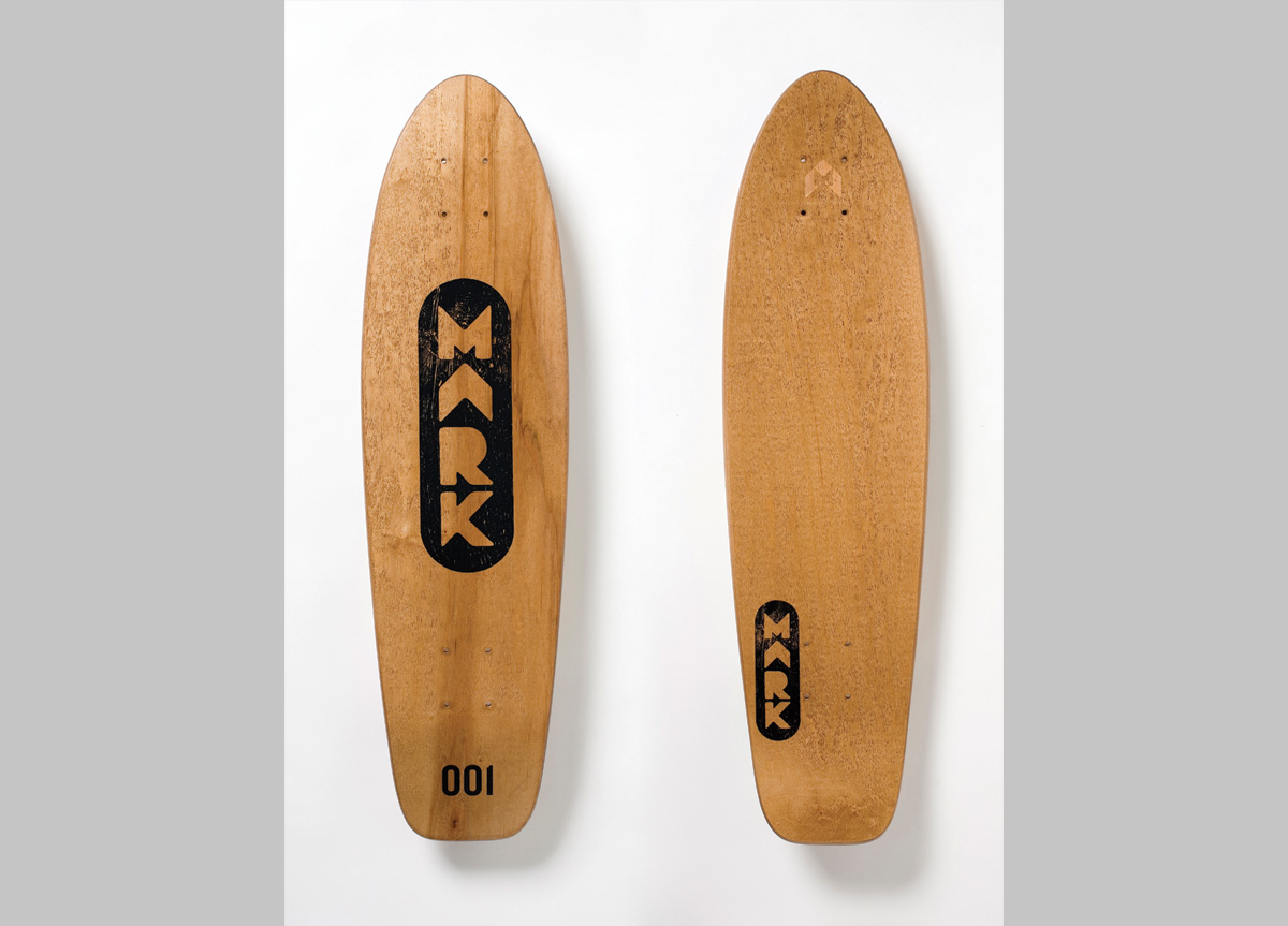 Skateboard Deck for MARK Skateboards by Marc English Design
