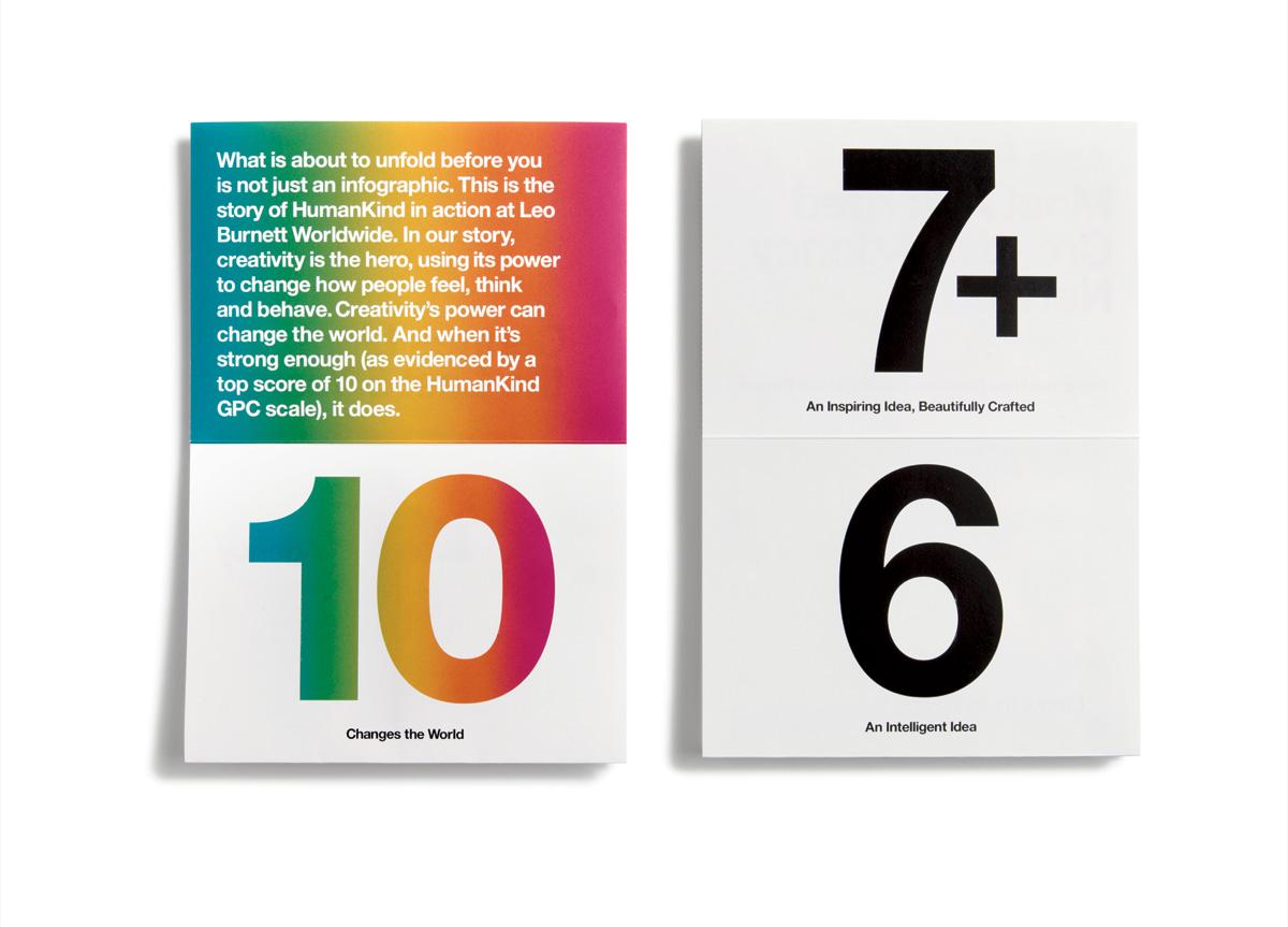 Booklet for Leo Burnett Worldwide by Leo Burnett Department of Design