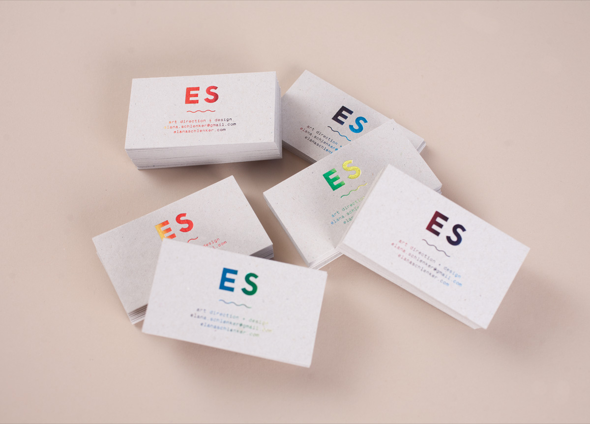 Business Card and Postcards for/by Elana Schlenker